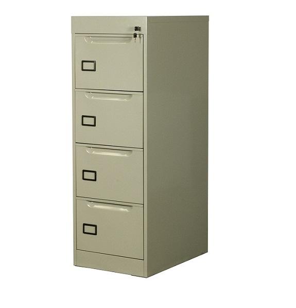 Archivero met lico vertical de 4 gavetas para oficina a for Archiveros para oficina