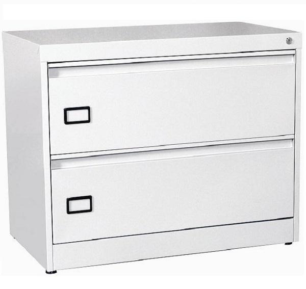 Archivero met lico horizontal 2 gavetas para oficina a for Archiveros para oficina