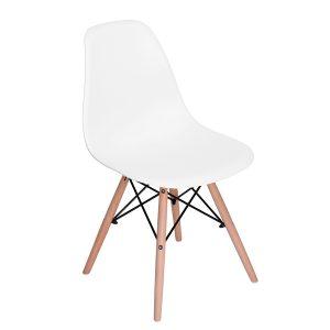 Silla Rico (Eames) Paquete de 4 sillas Blancas o Negras