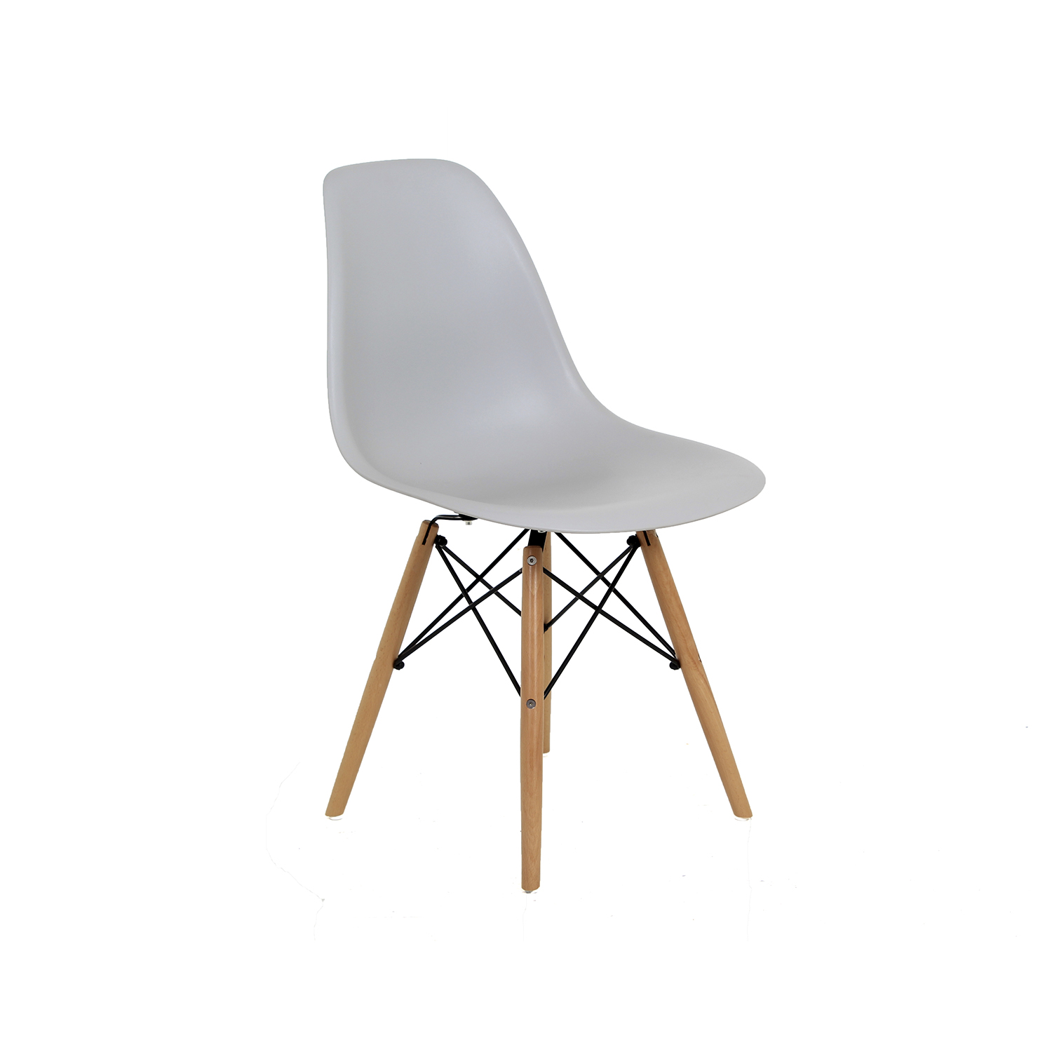 Silla replica eames en colores intermueble spacios sa de cv for Replicas de sillas