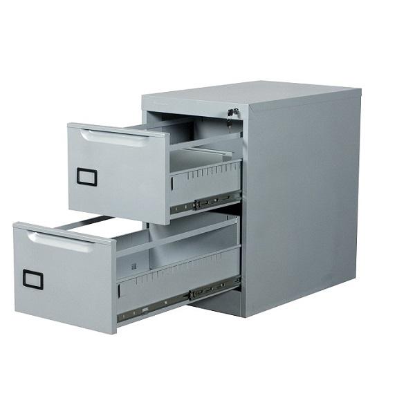 Archivero met lico vertical 2 gavetas para oficina a 9107 for Archiveros para oficina