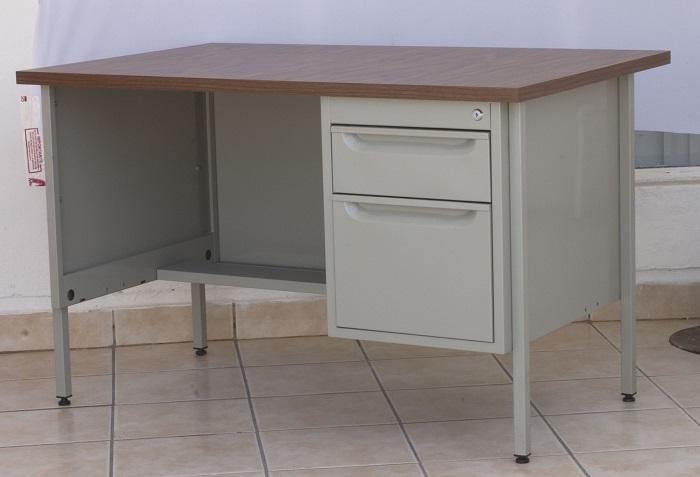 Escritorio met lico para oficina 150 cm em 9303 intermueblespacios - Cubre escritorio ...