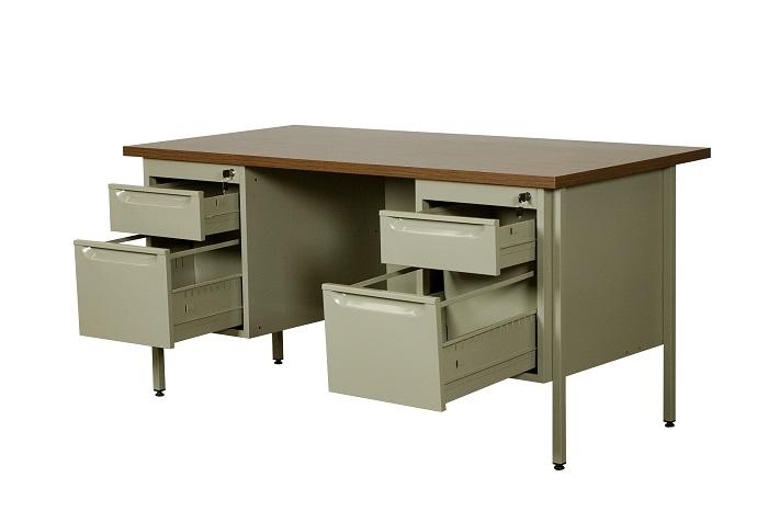 Muebles De Oficina Escritorios Precios.Escritorio Metalico Para Oficina Em 9305